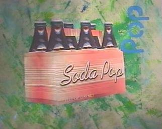 Collage by Ralph Michael Brekan titled: Soda Pop, created in 2004
