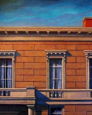Artist: Christopher Brennan - Title: Benton Park 8 - Medium: Oil Painting - Year: 2012