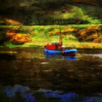 Trawler At Clifden Galway, Brian Devon