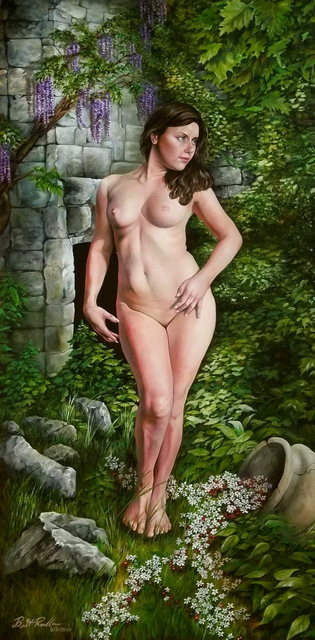 Brett Roeller  'Lilith', created in 2017, Original Painting Oil.