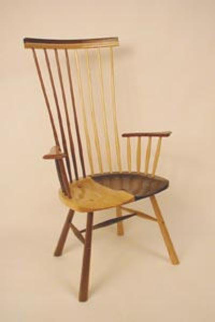 Michael Brown  'Minstrel Chair', created in 2003, Original Furniture.