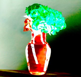 Artist: Bruce Panock - Title: Abstract  Vase - Medium: Color Photograph - Year: 2010