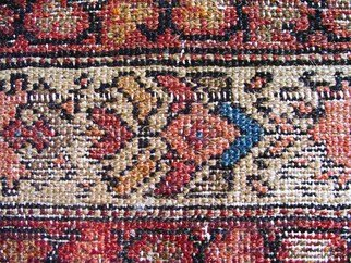 Mike Vukich: 'Rug', 2007 Color Photograph, Still Life. Artist Description:  Old Rug ...
