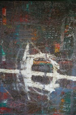 Quang Anh Bui: 'Abstract', 2012 Oil Painting, Abstract. Artist Description:  Zen and Art ...