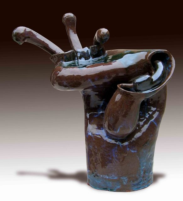 Ahki Bui  'Asexual Reproduction ', created in 2006, Original Sculpture Bronze.