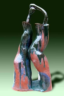 Ahki Bui Artwork Love story, 2006 Ceramic Sculpture, Love