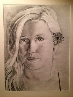 Jordan Burandt Artwork Christina, 2014 Christina, Portrait