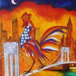 Le Coq A New York Sur Le Pont De Brooklyn, Marie-France Busset