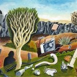 Unusual Objects on a Landscape By William B Hogan