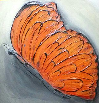 Catherine Anderson: 'monarch', 2017 , Animals. Artist Description: large monarch butterfly...