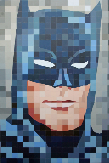 Carlos Tirado  'After Batman', created in 2011, Original Mixed Media.