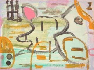 Artist: Mark Schwing - Title: Limbo Island - Medium: Acrylic Painting - Year: 2012