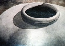 - artwork Clay_Jar_Series-1253209677.jpg - 1992, Watercolor, Still Life
