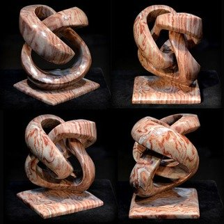 Carlo Martinez Artwork Strawberry Twist, 2015 Stone Sculpture, Abstract