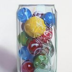 marbles and coke By Carlos Bruscianelli