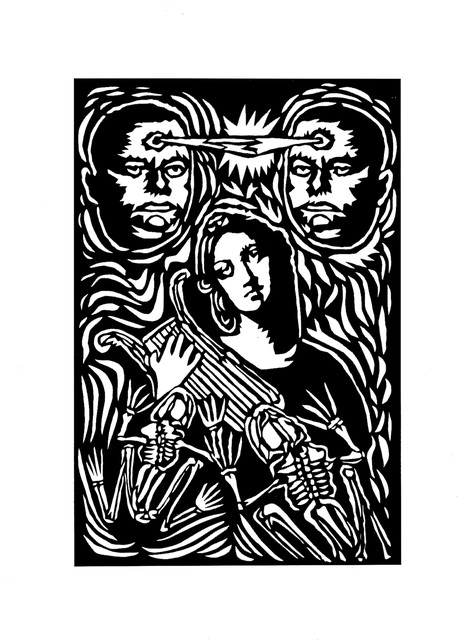 Carlos Madriz  'La Balada De La Dolorosa', created in 2017, Original Printmaking Other.
