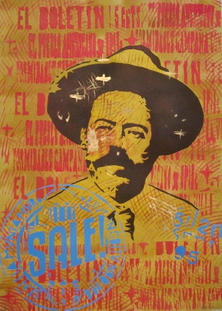 Carlos Madriz  'Pancho Villa', created in 2017, Original Printmaking Other.