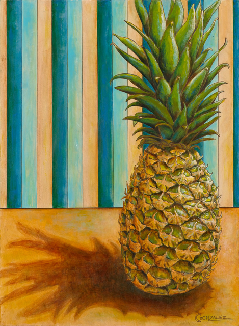 Carmen Gonzalez  'Anana', created in 2018, Original Painting Acrylic.