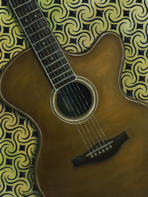 Carmen Gonzalez  'In Tune', created in 2017, Original Painting Acrylic.