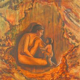 Cave Painting By Caroline Macdonald