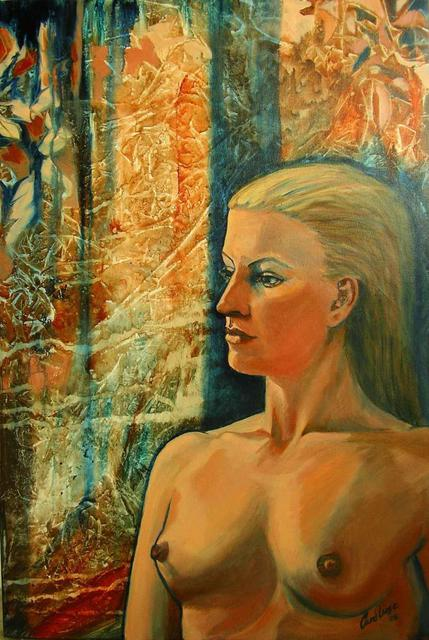 Artist Caroline Macdonald. 'Jaqi' Artwork Image, Created in 2005, Original Painting Oil. #art #artist