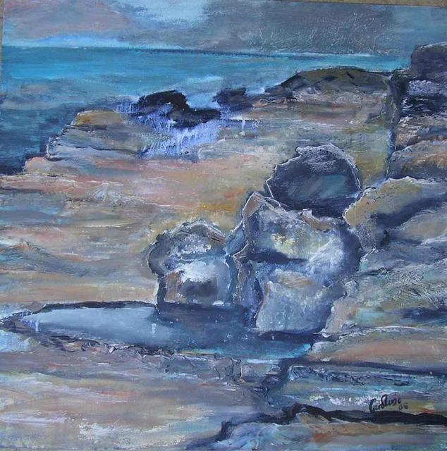 Caroline Macdonald  'Rocks', created in 2005, Original Painting Oil.