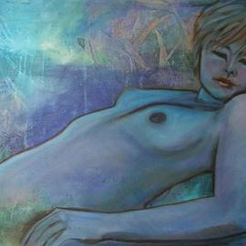 Caroline Macdonald Artwork Sprite, 2005 Oil Painting, Nudes