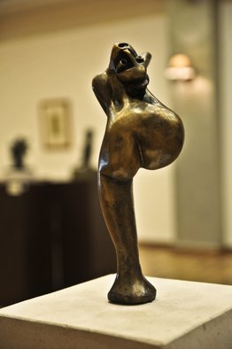 Catalin Geana Artwork Ballerina, 2012 Bronze Sculpture, Figurative