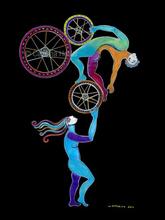 - artwork Balancing_the_Relationship-1353868385.jpg - 2011, Printmaking Giclee, Figurative