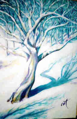Cindy Teresa Artwork winter, 2006 Acrylic Painting, Landscape