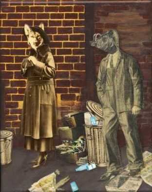 Cathy Horner Artwork Alleyway, 2008 Alleyway, Surrealism