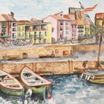 french harbour By Catriona Brough