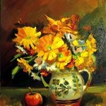 Yellow flowers By Calin Bogatean