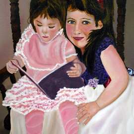 Craig Cantrell Artwork The Girls, 2011 Oil Painting, Portrait