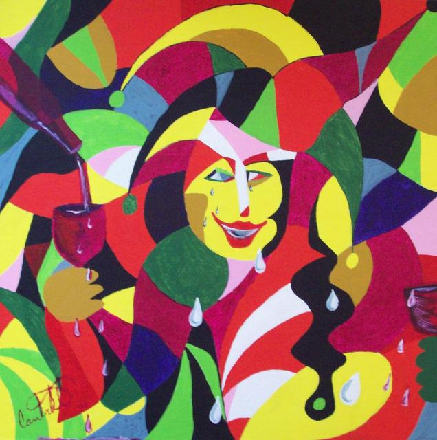Craig Cantrell  ' Its Time To Party', created in 2009, Original Painting Acrylic.