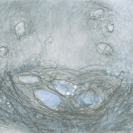 Christine Alfery Artwork Nest, 2010 Other Painting, Abstract Landscape