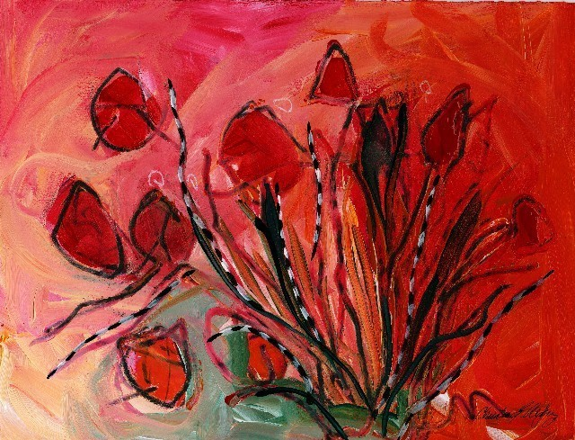 Christine Alfery Red Tulops 2009