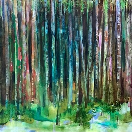 green forest By Cecilia Sassi