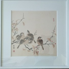 chinese painting By Jinxian Zhao