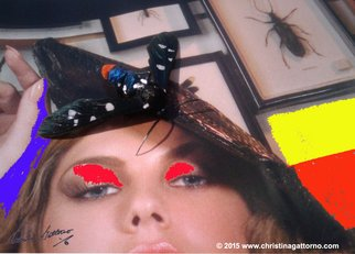 Christina Gattorno: 'Dont Bug Me 4', 2009 Color Photograph, Abstract.     Conceptual Photographic ArtDigital print on archival paper. Mounted on Aluminum & Plexiglas     ...