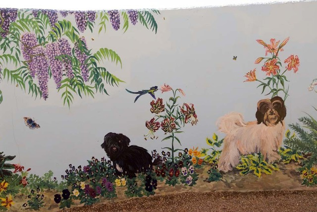 Christine Lytwynczuk  'Havanese Mural Detail 1', created in 2006, Original Painting Other.