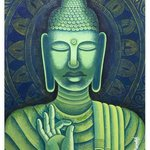 buddha By Chandru Hiremath
