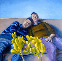 - artwork Best_Friends-1258750165.jpg - 2009, Painting Oil, undecided
