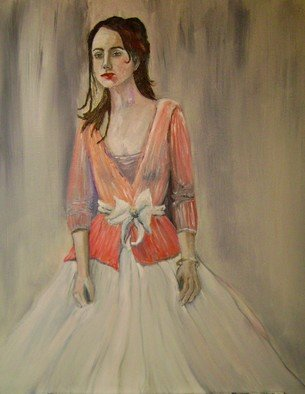 Charles Hanson: 'Pretty Girl', 2008 Oil Painting, Figurative.
