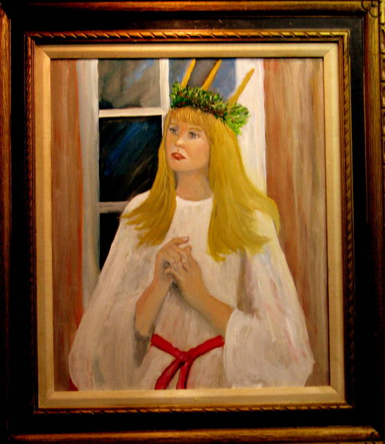 Charles Hanson  'St Lucia', created in 2016, Original Painting Oil.