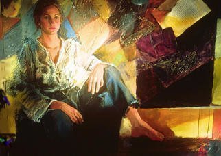 Doyle Chappell Artwork Barbara, 1972 Barbara, Portrait