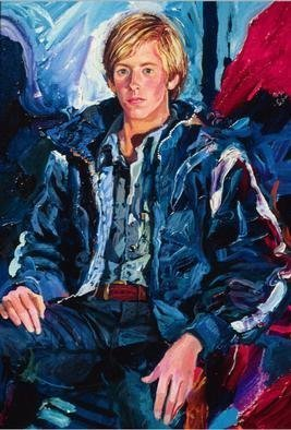Doyle Chappell  'Billy', created in 1972, Original Painting Oil.