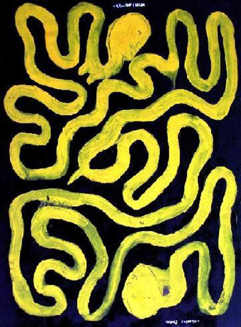 Charles Cham  '1656 SERPENT LOVERS', created in 2005, Original Printmaking Giclee.