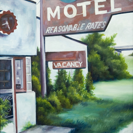 Route 66 Motel By James Hill