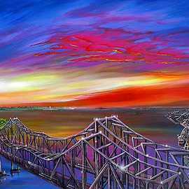 The Cooper River Bridges  , James Hill